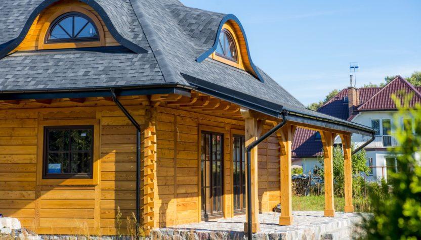 domy drewniane na cały rok
